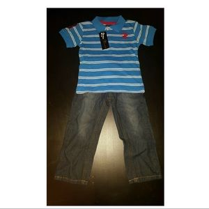 Beverly Hills Polo Club Boys 3T 2-Piece Outfit